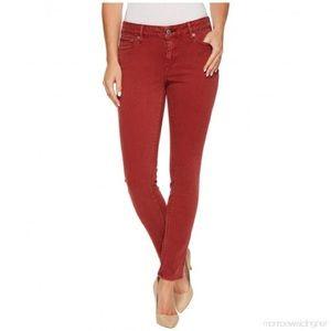 Lucky Brand   Lolita Skinny in Custom Brick Red